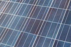 Blue solar panel cell Stock Photo