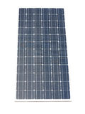Blue solar panel isolated over white Royalty Free Stock Photo