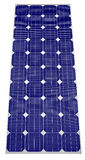 Blue Solar panel Stock Photography
