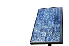 Blue solar panels Royalty Free Stock Photos