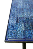 Blue solar panels Stock Images