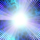 Blue Solar Vortex. A bright solar vortex illustration in a blue tone vector illustration
