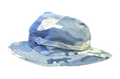 Blue soldier hat design Royalty Free Stock Images