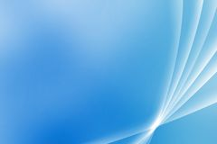 Blue Soothing Vista Curves Royalty Free Stock Photography