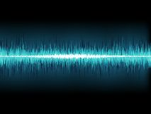 Free Blue Sound Wave On White. + EPS10 Stock Images - 32593924