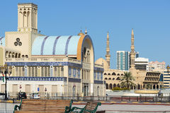 Blue Souq in Sharjah Stock Image