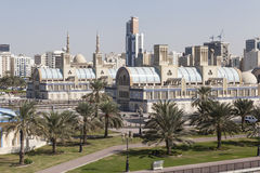 Blue Souq - (Trains). Sharjah. United Arab Emirates Stock Image