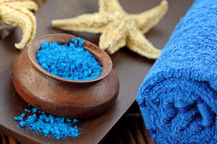 Blue spa Royalty Free Stock Photography