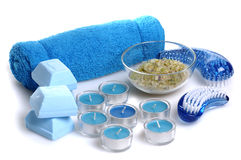 Blue spa Stock Photos