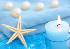 Blue spa Royalty Free Stock Photo
