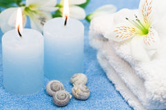 Blue Spa Royalty Free Stock Images