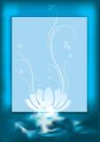 Blue spa background. Eps10  illustration Royalty Free Stock Image
