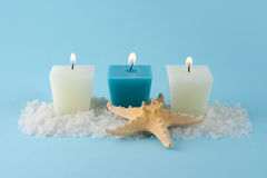 Blue spa series Royalty Free Stock Images