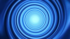 Blue space time warp tunnel vortex loopable motion background. Abstract blue space time warp tunnel vortex loopable motion background backdrop stock video footage