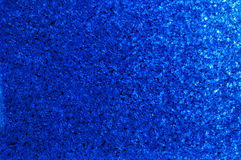 Blue Sparkle Background Stock Photography