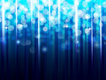 Blue sparkling background Stock Image