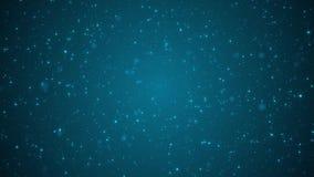 Blue sparkling lights