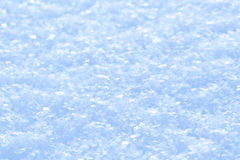 Blue sparkling snow background. Royalty Free Stock Photos