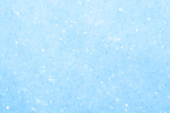 Blue sparkling snow background. Stock Image