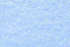 Blue sparkling snow background. Royalty Free Stock Images