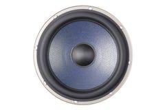 Blue speaker. A photo of blue speaker Royalty Free Stock Photo