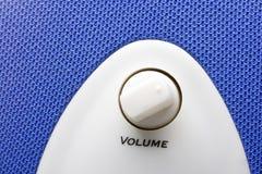 Blue speaker Royalty Free Stock Image
