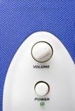 Blue speaker Stock Photography