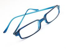 Blue specs Stock Photography