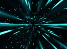 Blue speed 2 Royalty Free Stock Photo