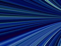 Blue speed sensation Royalty Free Stock Images