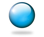 Blue sphere Royalty Free Stock Photo