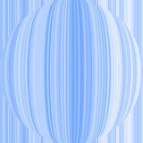 Blue sphere. Illustration of blue ball with lines Stock Illustration
