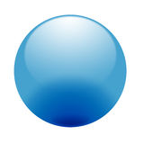 Blue sphere Stock Photography