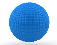 Blue sphere Stock Images
