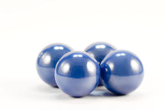Blue Spheres Stock Images