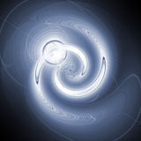 Blue spiral Stock Photography