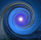 Blue spiral Royalty Free Stock Photography