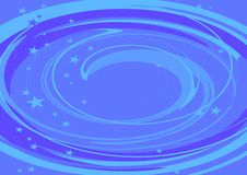 Blue spiral Royalty Free Stock Image
