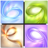 Blue spiral abstract background Royalty Free Stock Image