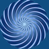 Blue spiral abstract design background . Stock Image