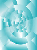 Blue spiral background Stock Photography