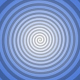 Blue spiral background. Symmetric abstract background with blue spiral Stock Images