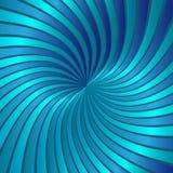 Blue spiral vortex vector Stock Images