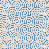 Blue spirals Royalty Free Stock Image