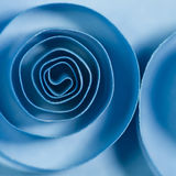 Blue spirals Stock Images