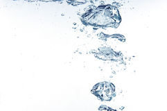 Blue Splash Stock Image