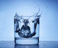 Blue Splash Stock Images