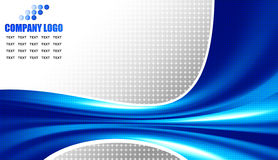 Blue corporate background Stock Photos