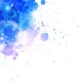 Blue splashes Stock Photo