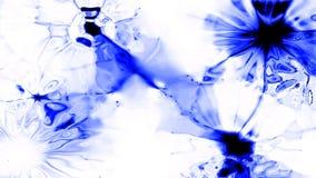 Blue Splatt 0200 Stock Photos